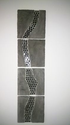 Concrete and mosaic