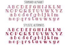 Ad: Big Sweetie - heart-filled font by Missy Meyer on Introducing a handwritten serif font that's all about the love: Big Sweetie! Big Sweetie is a pair of fonts in one: the standard alphabet is Learning English For Kids, Learning The Alphabet, Learning Spanish, Cute Fonts Alphabet, Word Fonts, Learn Spanish Free, Pixel Font, Journal Fonts, Journaling