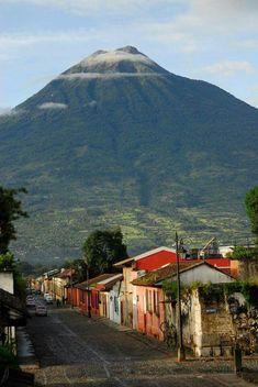Volcan de Agua o Santiguito. Photography by Ricky Lopez Guatemala.