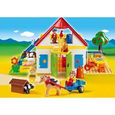 Playmobil 1.2.3 Moje duże gospodarstwo rolne, 6750, klocki