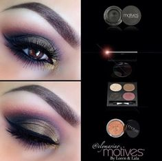 for purchase inquires go to: musthavemotives.com 1.) Secret Fantasies Palette 2.) Elle paint pot mineral eyeshadow  #motives #motivescosmetics #glam #beauty #makeup #ilovemakeup #sparkle #glitter #sexy #hot #eyes #eyemakeup www.motivescosmetics.com/ashleymorris