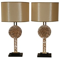 1stdibs - Pair of Lamps by Angelo BROTTO explore items from 1,700  global dealers at 1stdibs.com