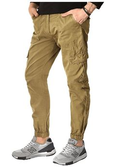 Match Men's Chino Jogger 6024 Black): Sits at waist / regular fit Slightly tapered leg with elasticized cuffs Zipper with button closure Front slant pocket thigh buttoned flap pocket rear buttoned flap pocket Cold hand / machine wash separately Best Joggers, Chino Joggers, Mens Jogger Pants, Mens Sweatpants, Mens Sweatshirts, Cargo Pants, Mens Clothing Sale, Men's Clothing, Vintage Tee Shirts
