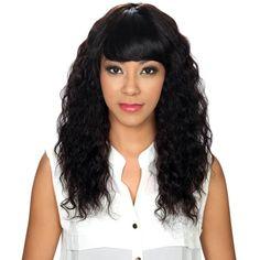 Hollywood Sis Unprocessed Brazilian Remy Human Hair Wig - MERMAID WAVE