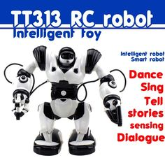 68.81$  Watch here - http://aliiw5.worldwells.pw/go.php?t=32754378498 - Jiaqi Intelligent voice robot TT313 rc robot kids rc toys Dance&sing robot control Interactive robben elliott robot P2