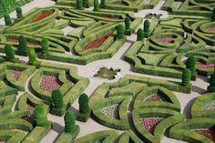 formas de baixa cobertura espetacular de design jardim francês