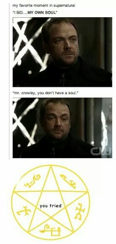 Here's my theory. I think that Crowley was actually an angel who fell to earth (something to do with Naomi, maybe) and then made a deal with a crossroads demon, but because it was so long ago he was the first one to ever do it. So then someone like Azazel answered, and gave him his wish and ten years, and then when he died he came to hell and took over the crossroads, hence why he is King of the Crossroads