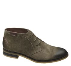 BURCHFIELD CHUKKA - Gunsmoke Suede from Johnston & Murphy #johnstonmurphy #fallstyle