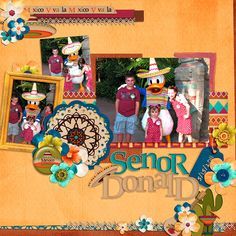 Meeting Donald in Mexico - Page 3 - MouseScrappers.com