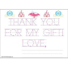 "Perfect thank you notes for beginning writers who want to do it ""all by themselves"".  http://rstyle.me/n/dsvgcnyg6"