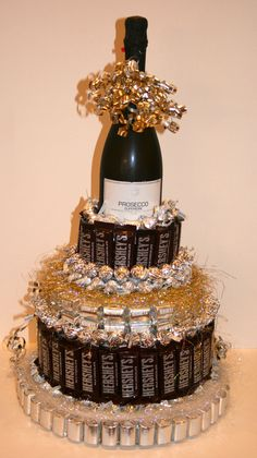 Items similar to Chocolate Candy/ Wine Cake on Etsy - Items similar to Chocolate Candy/ Wine Cake on Etsy Chocolate Candy/ Wine Cake by CoveredInCandy on Etsy 21st Birthday, Birthday Gifts, Birthday Parties, Golden Birthday, Birthday Cake, Homemade Gifts, Diy Gifts, Candy Arrangements, Bar A Bonbon