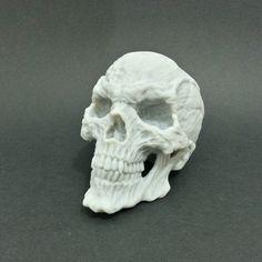 HORROR SKULL #3Dprinting #3Dprint [more pics on Cults website]