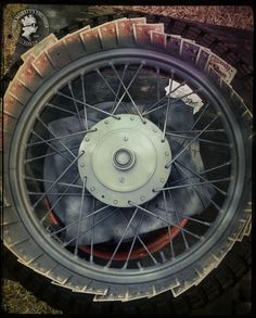 Her Majesty's Thunder: DIY Painting Motorcycle Rims on the Cheap