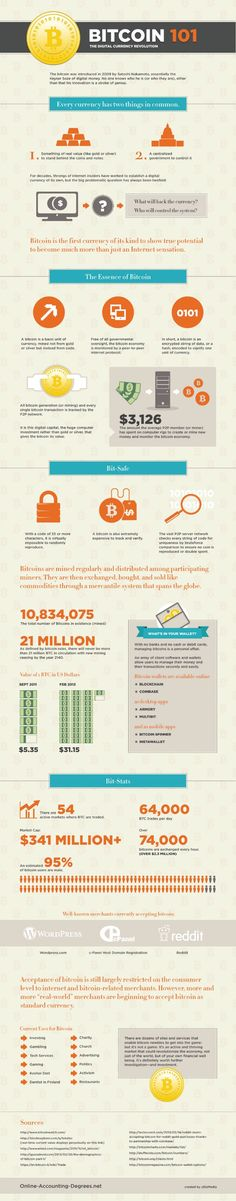 Bitcoin 101 [infographic]