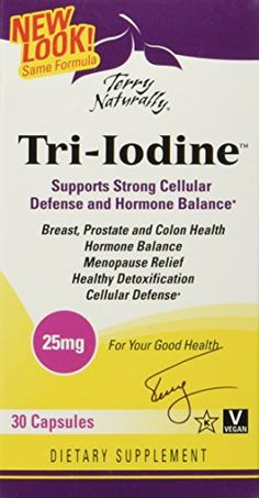 Terry NaturallyTriIodine 25 mg 30 caps ** See this great product by click affiliate link Amazon.com
