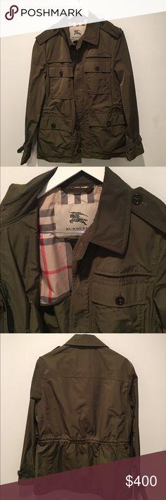 Burberry Men's L Field Jacket Mens L Burberry London Tech Field Jacket Burberry Jackets & Coats Military & Field