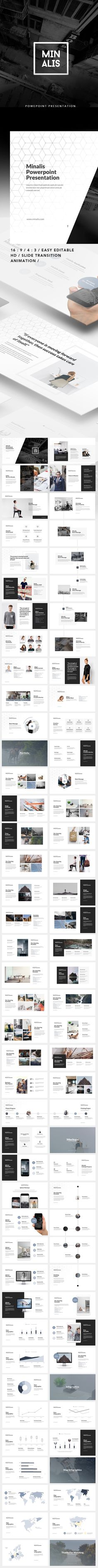 Minalis Powerpoint Presentation  #business #advertising • Download ➝…