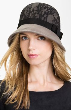 San Diego Hat Lace & Wool Cloche available at #Nordstrom #socute #lovelovelove