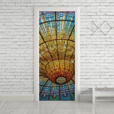 Adesivo de porta vitral - StickDecor | Decoração Criativa