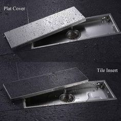 shower floor drain on sale at reasonable prices, buy AODEYI 304 Solid Stainless Steel 300 X Square Anti-Odor Floor Drain Bathroom Invisible Shower Floor Drain from mobile site on Aliexpress Now! Bathroom Drain, Shower Drain, Bathroom Floor Tiles, Shower Floor, Bathroom Plans, Bathroom Faucets, Sinks, Bathroom Design Small, Bathroom Interior Design