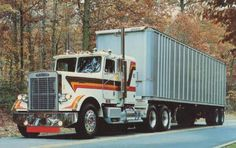 """Desperado"" Freightliner Power Graphics Freightliner poster"