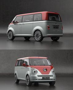 2016 Volkswagen T6 Vintage Concept > inspired by the 1950 VW T1 Concept brings back confident style with modern technology the beautiful T1 > please build it! > a work of art by designer David Obendorfer!