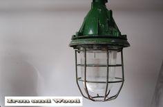 Industriele groene Bully , groen korflamp H40D25