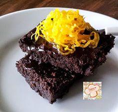 Cozinhando sem Glúten: Brownie com Biomassa de Banana Verde