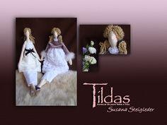 Tildas Susana Steigleder: Tildas: Bonecas de pano feitas a mão. Bem humoradas simpáticas e carismáticas não tem como não se apaixonar por elas...