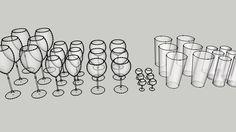 glas set - 3D Warehouse