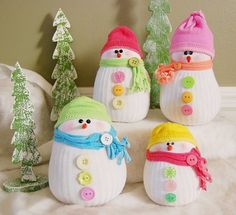 Sock Snowman Is A Super Cute and Easy Craft | The WHOot                                                                                                                                                                                 More