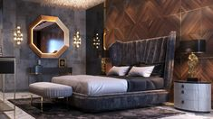 Indian Bedroom Design, Luxury Bedroom Design, Home Room Design, Master Bedroom Design, Luxury Bedroom Furniture, Bedroom Decor, Bedroom False Ceiling Design, Home Ceiling, Luxurious Bedrooms