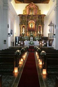 Decoración de iglesia para boda - Imagui