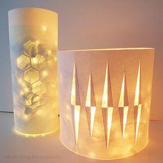 All Things Paper: DIY Paper Lighting - Ohoh Blog