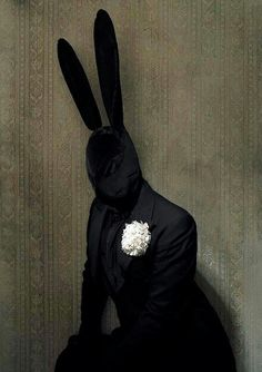 Why do you wear that stupid bunny suit? #creepy #scary #horror