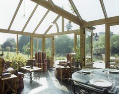 Country Living Room: .