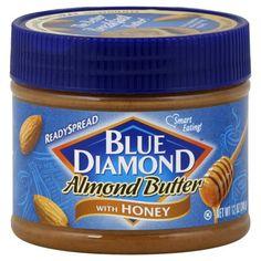 Blue Diamond almond butter - peanut-free