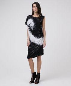 BLOOM JET BLACK DRESS - New In - Womens - £70