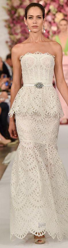 Oscar de la Renta Spring Summer 2015 Ready-To-Wear collection \\