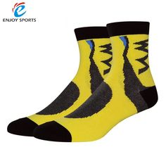 Number And Symbol Crazy Socks Casual Socks Funny For Sports Boot Hiking Running Etc.