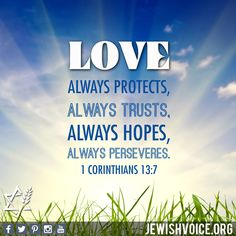 1 Corinthians 13:7 In Christ Alone, Love Is Patient, Love Always, Faith Hope Love, Bible Verses, Trust, God, Quotes, Letters