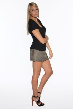 New for our Fall 2014 Collection is our Women's organic cotton black vee and camp skirt. See the whole collection now at www.marcnelsondenim.com