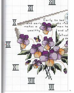l\'horloge la lettre les violettes (2)