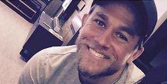 Charlie Hunnams megawatt smile