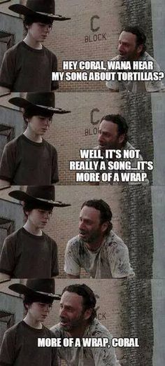 Rick Grimes from 'The Walking Dead' tells the best dad jokes (32 Photos)