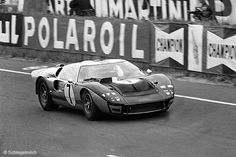Ford GT Mk. II at Le Mans in 1966