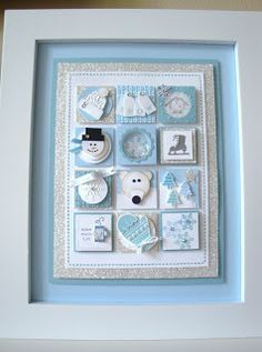 Stampin' Up! Collage by Penny Thomas at penguinstamper: Winter Stampin' Sampler