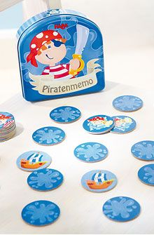 Inventori per bambini - Memo Pirati - Giochi in lattina - Giochi - GIOCATTOLI & MOBILI