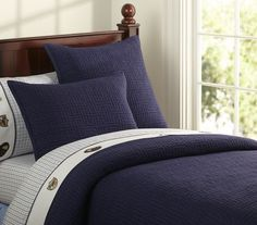 PB Seacliff Quilted Bedding