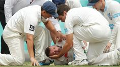 Phil Hughes fighting for his life